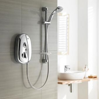 Mira Vie 9.5kW Electric Shower All Chrome